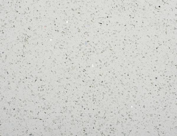 White Quartz Stardust Mirror Fleck 400mm by 400mm